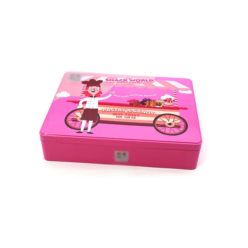 进口糖果铁盒包装