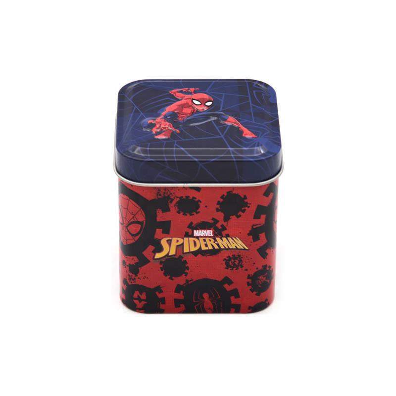 蜘蛛侠糖果铁罐