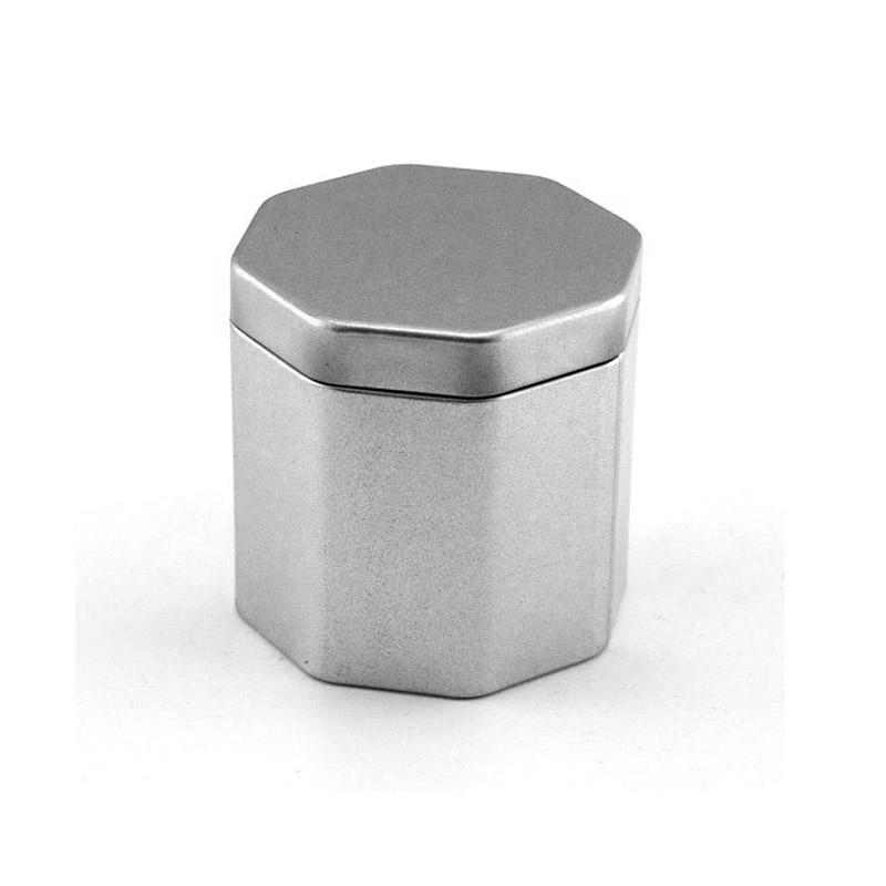 六边形马口铁茶叶罐