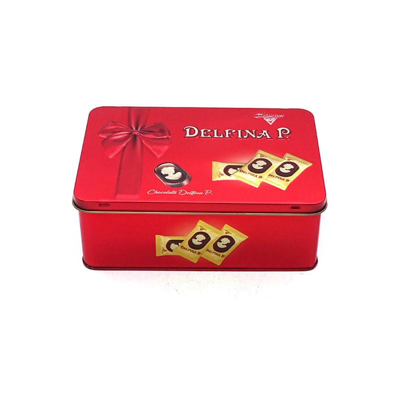 糖果铁盒包装